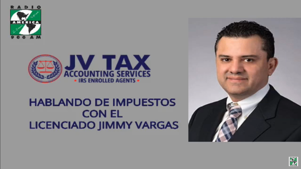 Hablando de impuestos - Lic. Jimmy Vargas, 1 May 2020